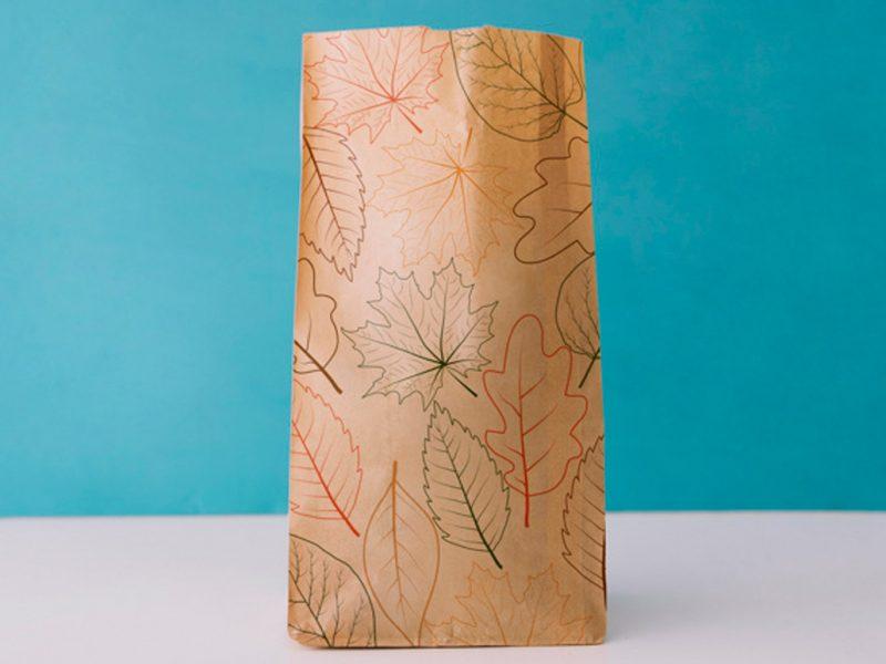 Bolsas de papel para chucherías, alimentación y comercios