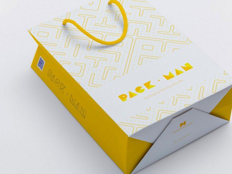Bolsas de papel con logo personal