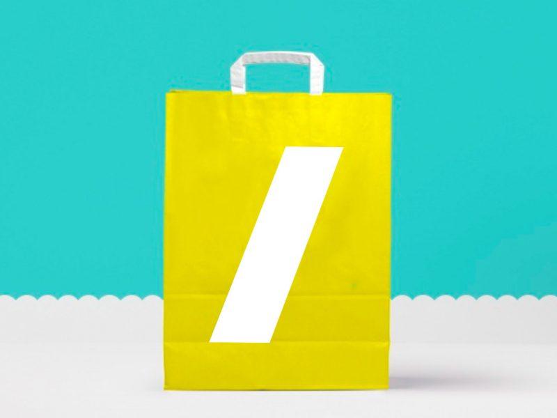 Bolsas de papel para uso promocional