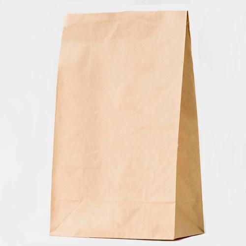 Bolsas de papel sin asa